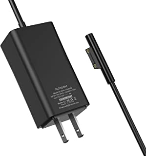 Microsoft Surface Pro Charger,65W Mini Travel Charger for Surface Pro 3/4/5/6 2017 Tablet/Surface Go/Surface Laptop/Surfac...
