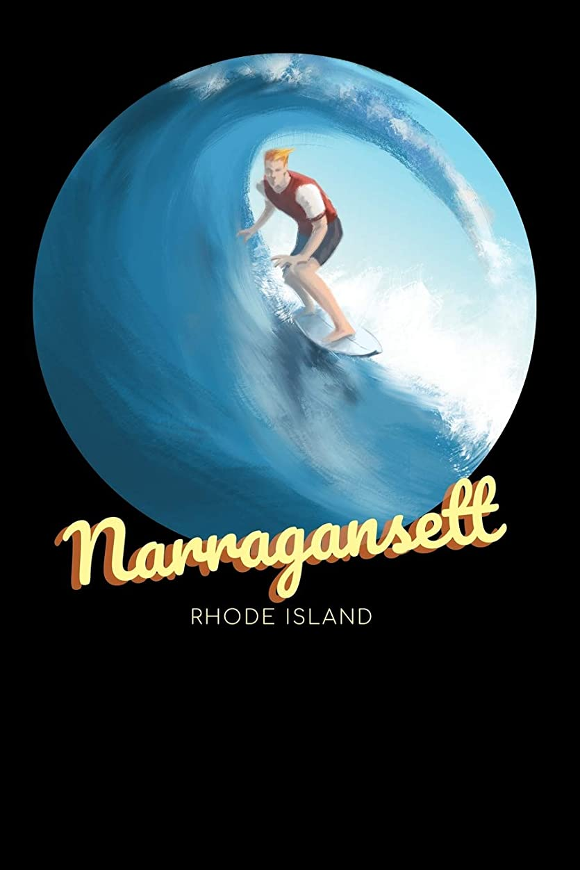 上級風が強い期限切れNarragansett Rhode Island: Surfing Journal - Schedule Organizer Travel Diary - 6