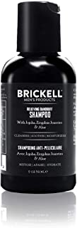 Brickell Men's Relieving Dandruff Shampoo For Men, Natural & Organic, Soothes and Eliminates Dandruff with Ziziphus Joazei...