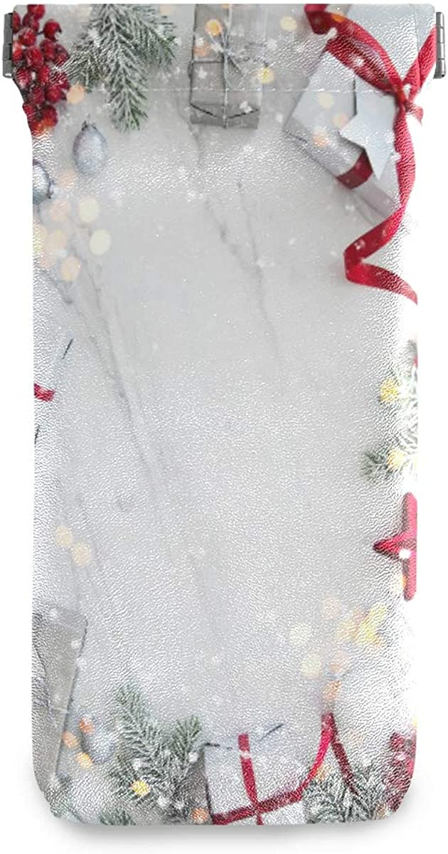 AGONA Winter Christmas Holiday White 35% OFF Marble Sunglasses Pouch Squ Ranking TOP1