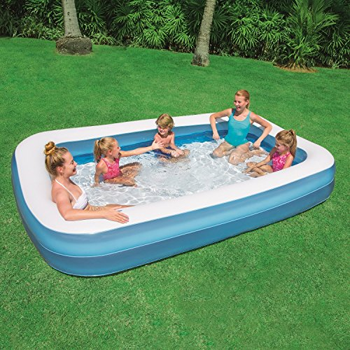 YUXI Bestway Swimming Pool for Kids and Adults SPA Bath Tub 10 Feet with Air Pump