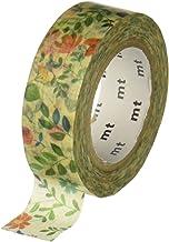 MT 和紙マスキングテープ 15mm×10m 水彩色フラワーパターン (MTEX1P109)