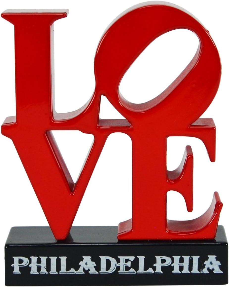 TG Max 72% OFF Superior LLC Treasure Gurus JFK Plaza Love Sculpture Miniat Philly Art