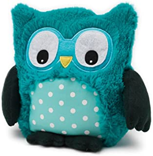 Warmies Microwavable French Lavender Scented Plush Turquoise Hooty Owl