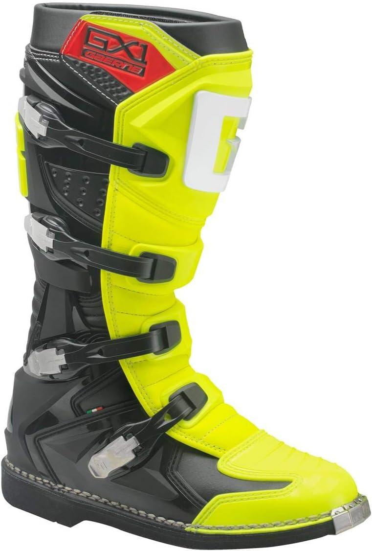 giallo fluo Stivali da motocross colore Gaerne GX-1 Goodyear