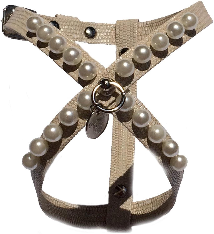 Charlotte's Dress Harness, XXSmall, Iguana Beige
