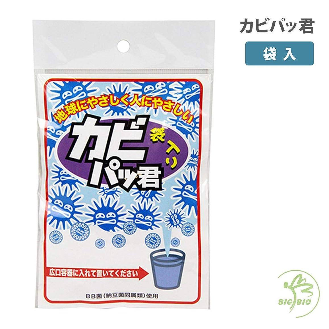 エコー種おなかがすいた納豆菌のカビパッ君 袋入り(1個入)