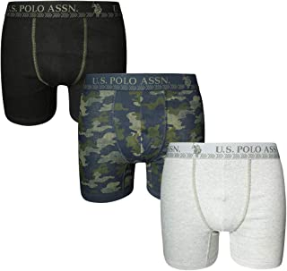 U.S. Polo Assn. Men's Freedom 3-Pack Boxer Brief