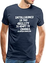Stephen Hawking Intelligence Definition Leetspeak Men's Premium T-Shirt