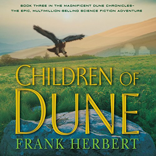 Children of Dune audiobook cover art