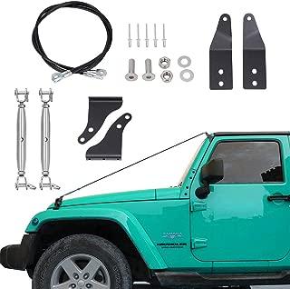 BORDAN Limb Risers Kit for Jeep Wrangler JK 2007-2017 Through the Jungle Protector Obstacle Eliminate Rope-2 PCS