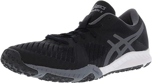 Asics - Chaussures Weldon X pour Femmes, 42 EU, noir Carbon blanc