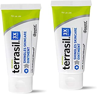 Shingles Treatment Cream - 3X Triple Action Patented Natural Formula for Herpes Zoster Outbreaks Causing Painful Rash and ...