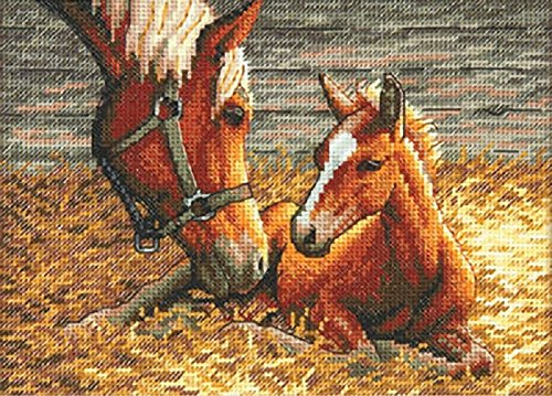 DIMENSIONS Gold Collection Petite Good Morning Counted Cross Stitch Kit-7'X5' 18 Count