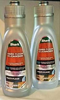 2 Shark Hard Floor Cleanser Multi-Floor 20 Oz. RU820 Use With Steam & Spray Mops & Sonic Duo. NEW LOOK, SAME GREAT PERFORMANCE!
