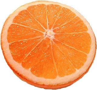 Blancho 3d Unique Fruits Coussin Canapé Taie d'oreiller, Orange