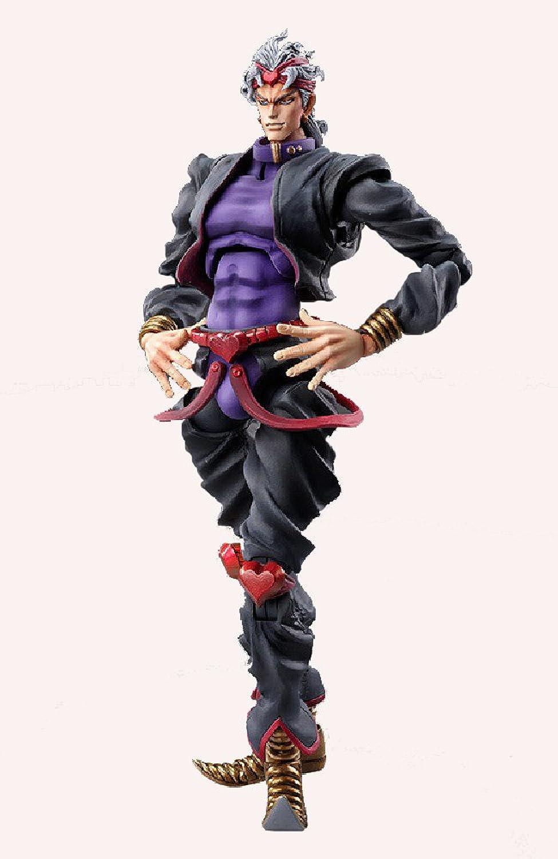 Super Figure Action [JoJo's Bizarre Adventure  Part.3] DIO Ver.Black (Hirohiko Araki Specify color) (PVC Figure)
