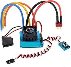 Yuniroom Brushless ESC Electric Speed Controller, 120A Sensored Brushless Speed Controller ESC for RC 1/8 1/10 1/12 Car Crawler