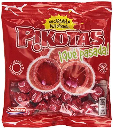Dulciora - Pikotas - Caramelo de goma gragrado con sabor a cereza - 100 g