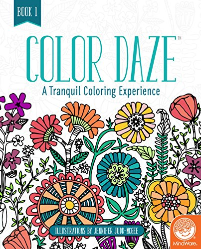 MindWare Color Daze Adult Coloring Book: Book 1
