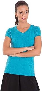 Jockey Sky Blue V Neck T-Shirt For Women