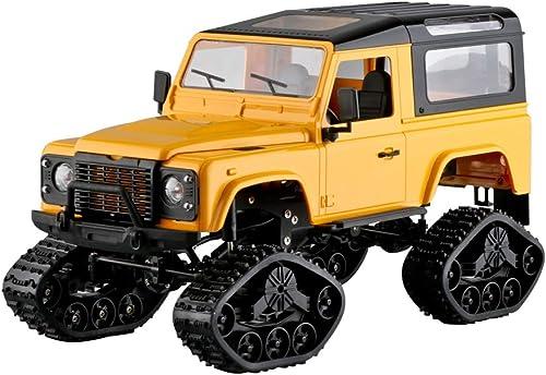 XuBa 2.4G 4WD Off-Road Flocon de neige Wifi Control Cadre en métal RC Voiture 1 16 Without Camera jaune