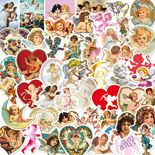 BLOUR 50 Love God Cupid Waterproof Stickers Cute Cartoon Cell Phone Water Cup Notebook Waterproof Decorative Stickers