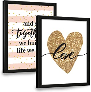 Chaka Chaundh - Love Quotes Wall Frames for bedroom and husband - Couple Quotes Wall Frames for Bedroom- Love Quotes Frame...