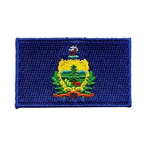 Vermont Montpelier Amerika USA US Bundesstaaten Patch Aufnäher Aufbügler 0061