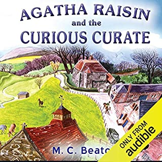 Agatha Raisin: The Curious Curate cover art