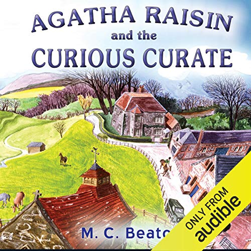 『Agatha Raisin: The Curious Curate』のカバーアート