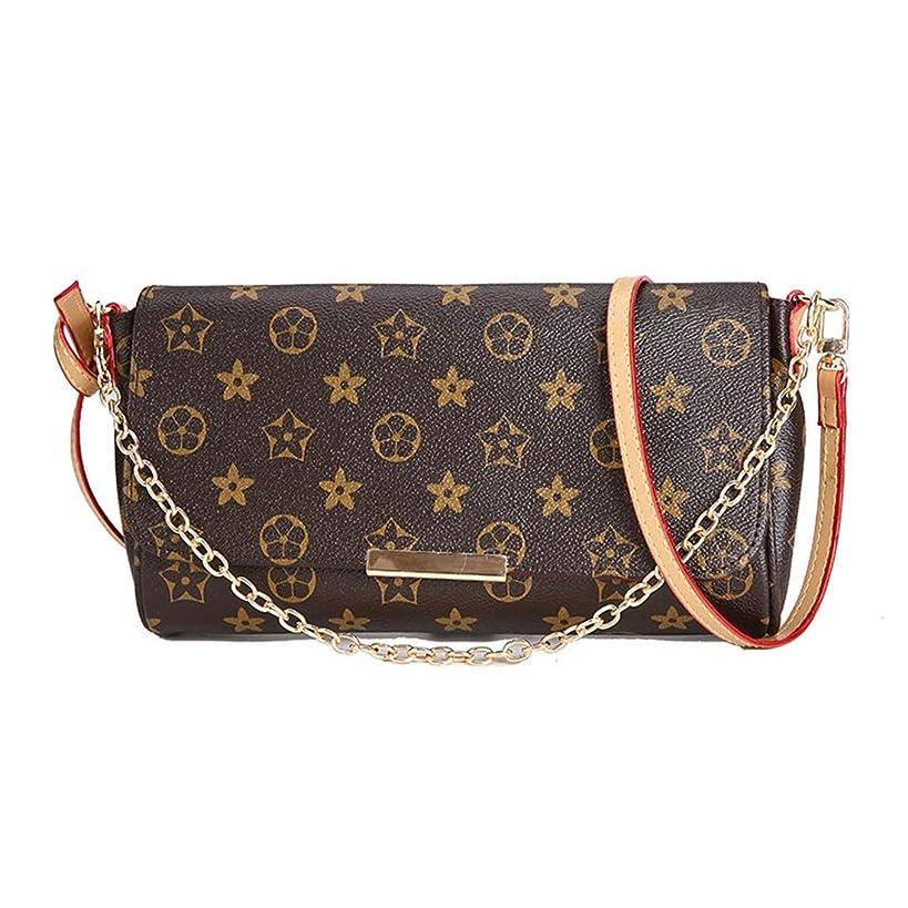 Women's Canvas Pochette Favorite MM Double-use Chain Flap Bag Small Crossbody Bag Shoulder Bag (monogram)