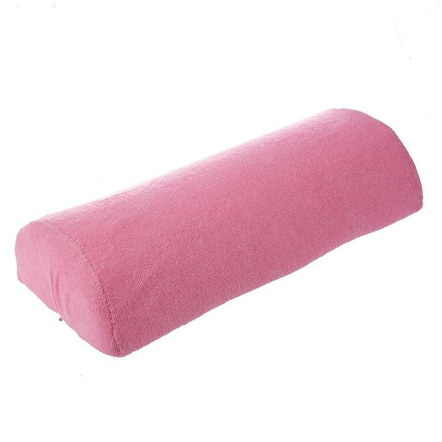 不定レンダー誇張TOOGOO ネイルアートのハンドのクッション枕 ピンク