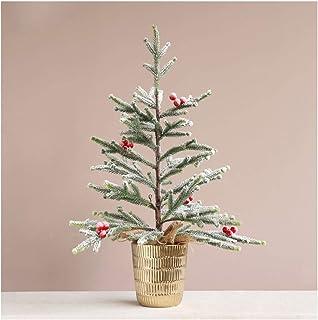 Fake Tree Artificial Tree شجرة عيد الميلاد الاصطناعي، مصغرة شجرة الصنوبر الاصطناعي للمنزل غرفة المعيشة حديقة في الداخل الد...