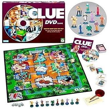 Hasbro Gaming Clue DVD Game