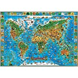 Round World Products RWPDM002 Children Animals of The World, 54' Width, 38' Length