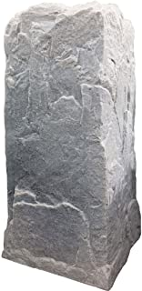 Dekorra Fake Rock Pedestal Cover Model 113 Fieldstone