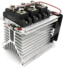 H3200ZF-3 Three Phase DC to AC 200A 24-480Vac Industrial Grade Solid State Relay Set/SSR Set