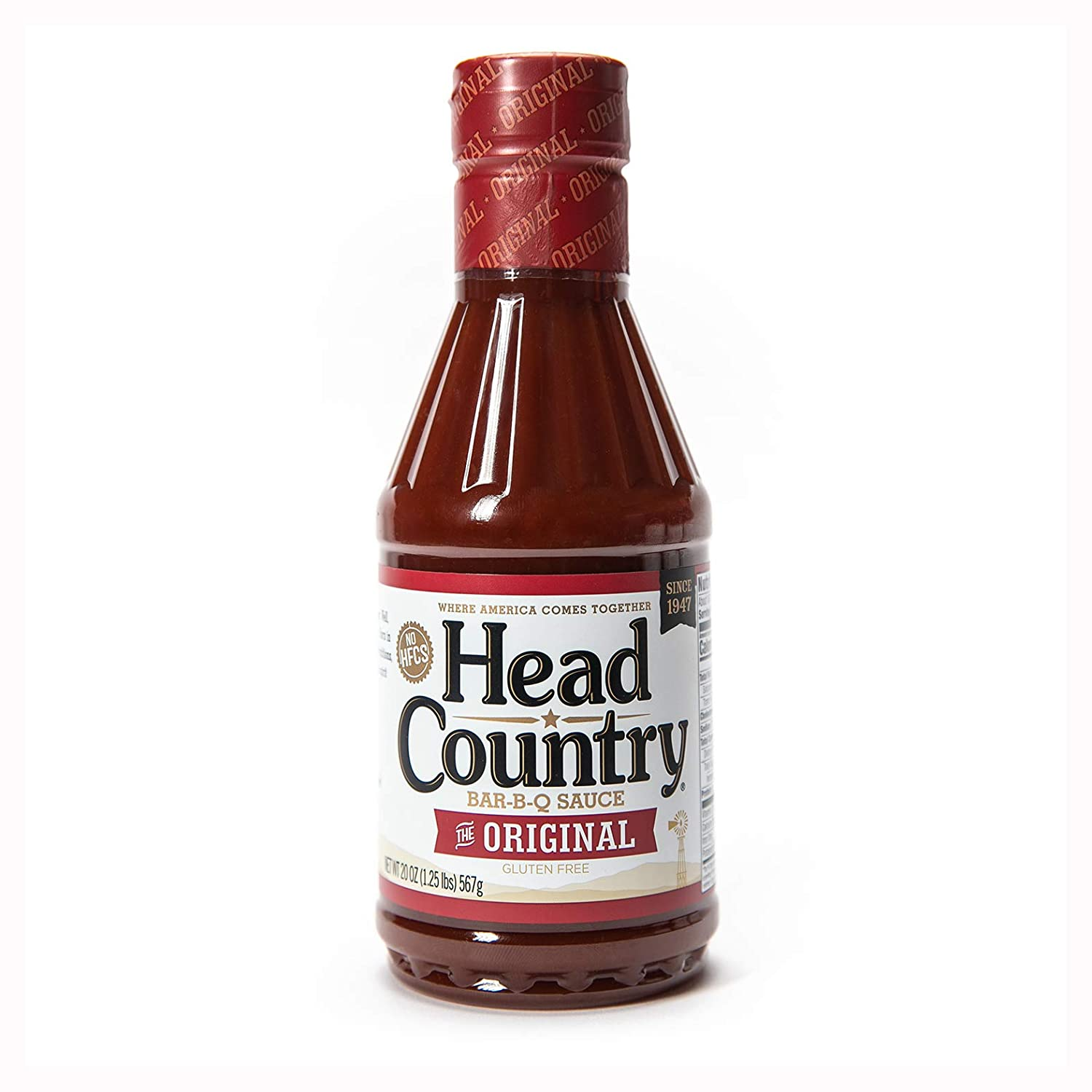 Head Country Bar-B-Q Sauce Original New popularity 20 Challenge the lowest price 6 of Ounce Pack