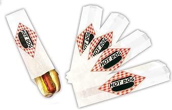 Hot Dog Footlong Paper Bag (1000 Bags Per Case)
