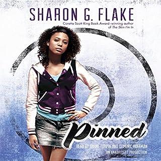 Pinned audiobook cover art