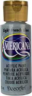 DecoArt DA185-3 Americana Acrylic Paint, 2-Ounce, Light French Blue