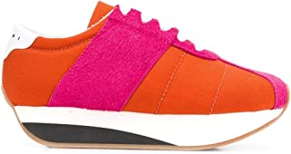 Marni Luxury Fashion Womens SNZW000704P2015ZL907 Orange Sneakers | Fall Winter 19
