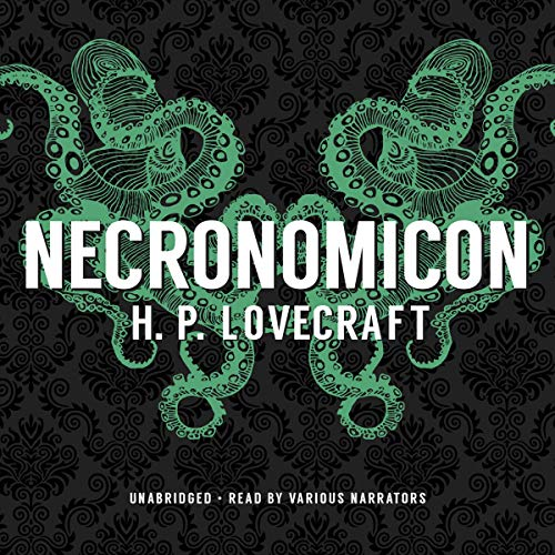 Necronomicon audiobook cover art