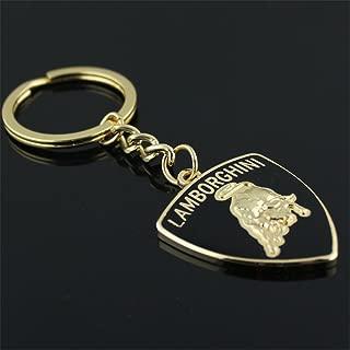 Dreamtao Fashion Metal Car Logo Keychain Key Chain Keyring Key Ring for Lamborghini