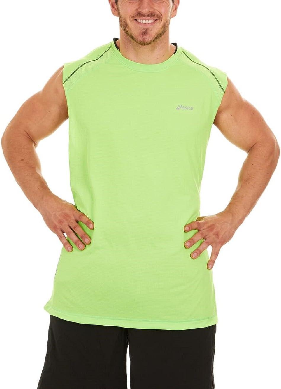 ASICS Camiseta sin Mangas rúnica de musculoso para Hombre