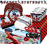 Krause & Sohn Party-Set Kindergeburtstag viele Teile Geschirr Geburtstag Dekoration Geburtstagstisch...