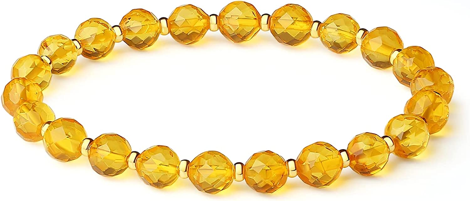 7in,Baltic Amber Bracelets for Amber cutt stone rough Ranking Selling and selling TOP10