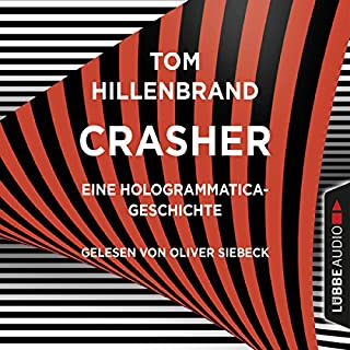 Crasher audiobook cover art