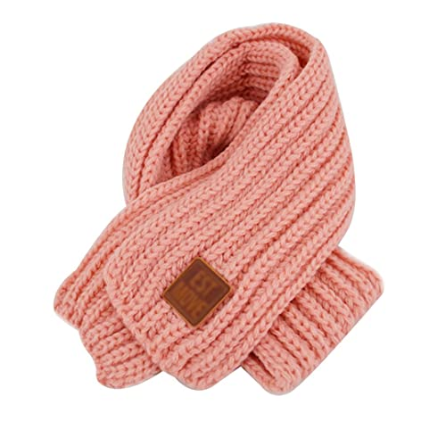 Autumn Winter Warm Children Knitted Scarf Handmade Ball Baby Neck Sleeve Candy Color Ball Scarf Kids Scarf Apparel Accessories